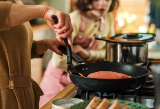 Az edények minden tűzhelytípuson hsználhatók