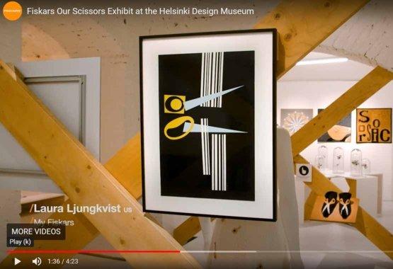 Olló kiállítás a Helsinki Dizájn Múzeumban VIDEO