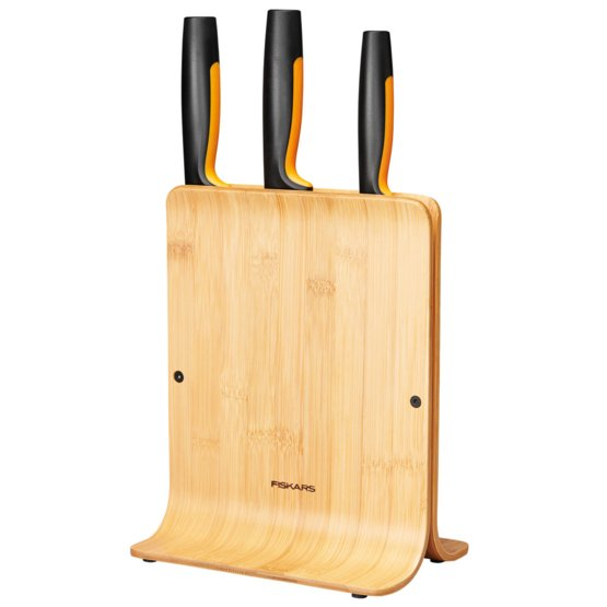 Functional Form bambusz késblokk 3 késsel
